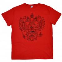 """Футболка """"Герб"""" (red)"""