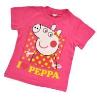 """Футболка детская """"I love Peppa"""""""