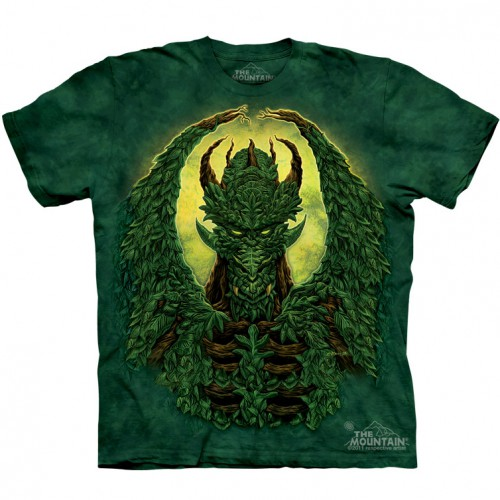 "Футболка The Mountain ""Green Man-Dragon"" (детская)"