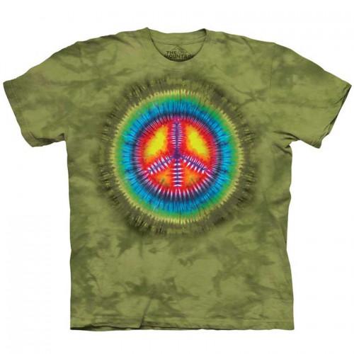 "Футболка The Mountain ""Peace Tie Dye"" (детская)"
