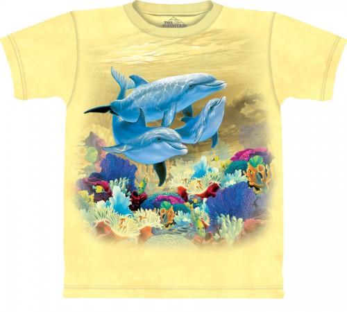 """Футболка """"Party Dolphins"""" (США)"""