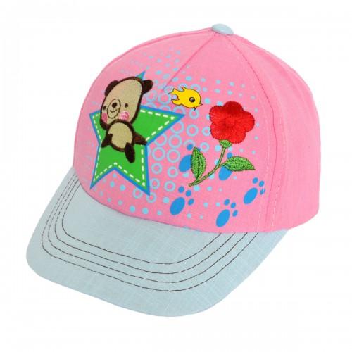 """Кепка для девочки """"Bear Star"""" -08"""