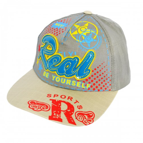 "Кепка для мальчика ""Real"" -02"