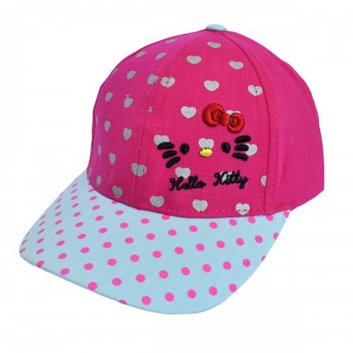 """Кепка для девочки """"Hello Kitty"""" -02"""