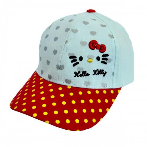 """Кепка для девочки """"Hello Kitty"""" -04"""
