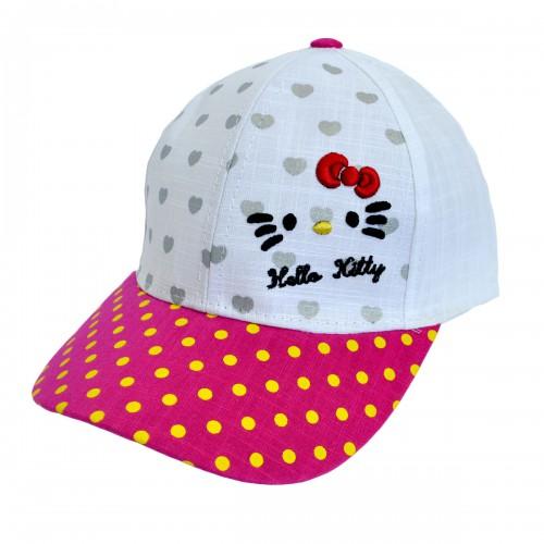 """Кепка для девочки """"Hello Kitty"""" -05"""