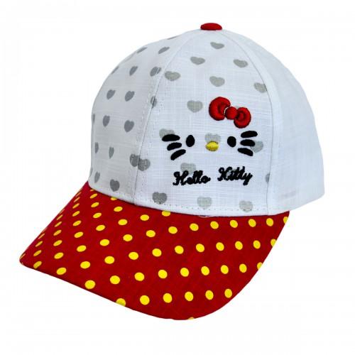 """Кепка для девочки """"Hello Kitty"""" -06"""