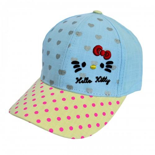 """Кепка для девочки """"Hello Kitty"""" -10"""