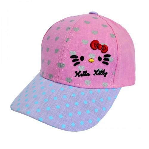 """Кепка для девочки """"Hello Kitty"""" -11"""