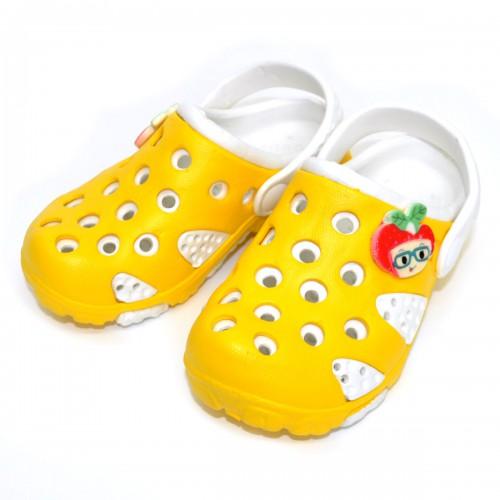 """Шлепанцы-галоши детские """"Yellow & White"""""""