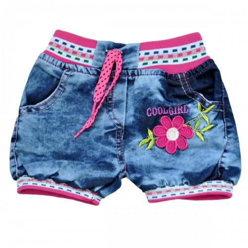 """Шорты джинсовые для девочки """"Cool Girl"""""""
