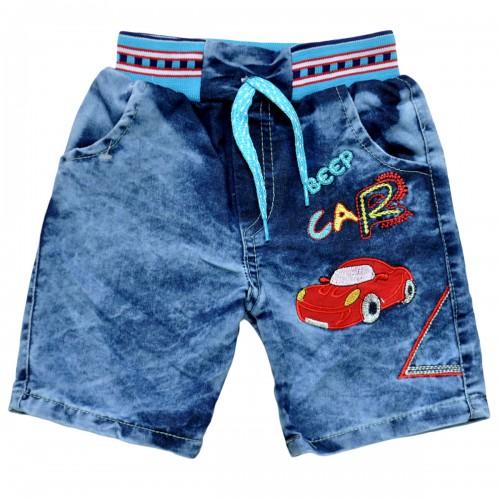 """Шорты джинсовые для мальчика """"Beep Car"""""""
