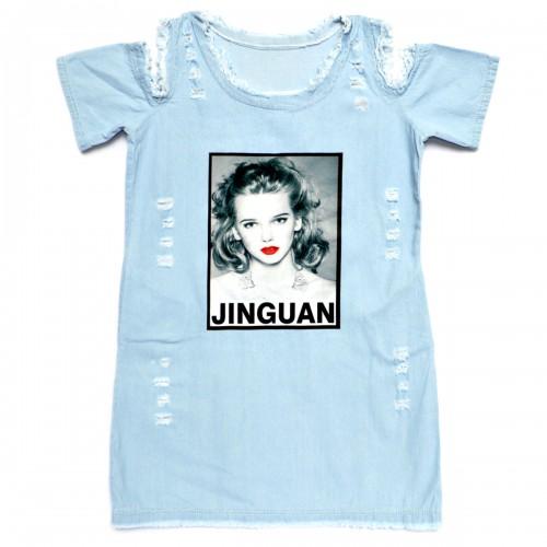 """Платье джинсовое """"Jinguan"""""""