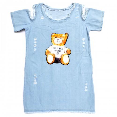 """Платье джинсовое """"Toy Maschino"""""""