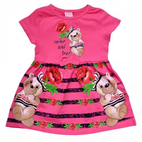 """Платье детское """"Sailor and Bear"""""""