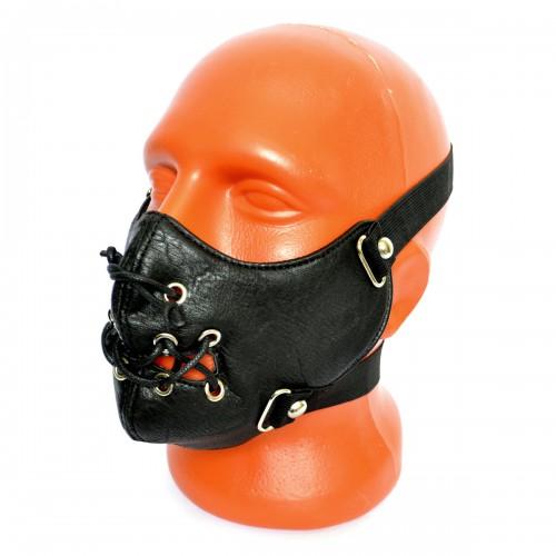 Маска на лицо кожаная -13