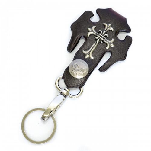 """Брелок для ключей """"Череп и крест"""""""