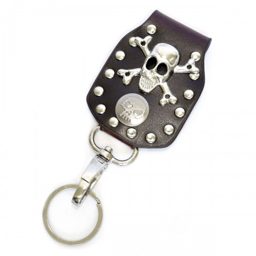 """Брелок для ключей """"Череп и кости"""""""