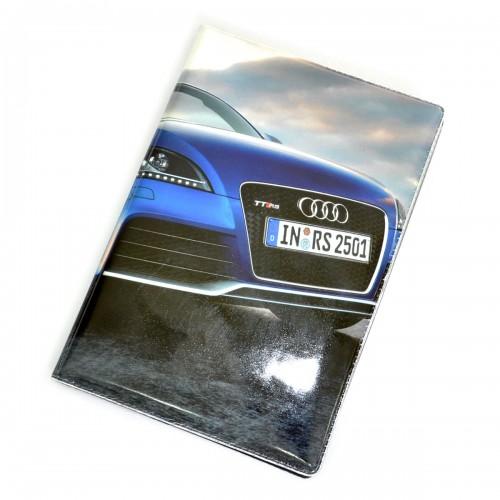 """Обложка для автодокументов """"Audi"""""""