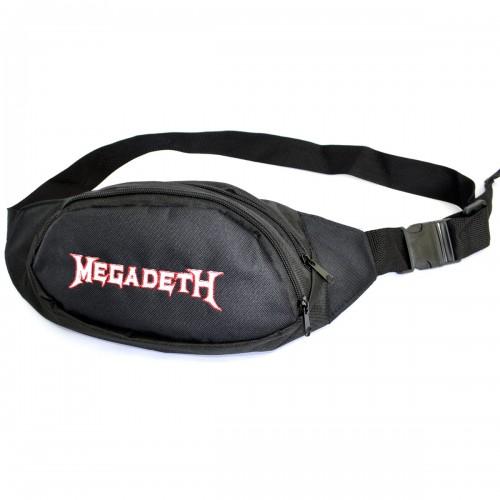 """Сумка на пояс """"Megadeth """""""