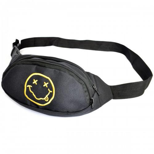 "Сумка на пояс ""Nirvana Smile"""