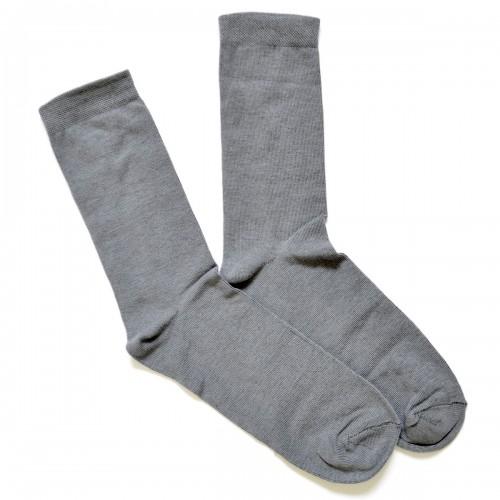 Носки мужские, классика, серые