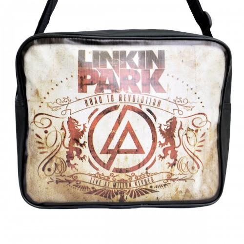 "Сумка-почтальонка ""Linkin Park"" -01"
