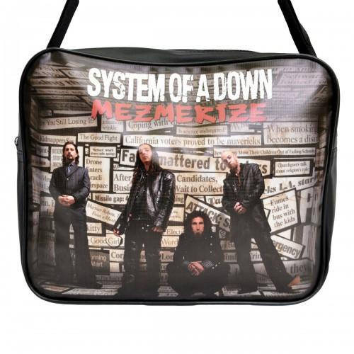 "Сумка-почтальонка ""System of a Down"""