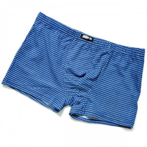 "Трусы мужские ""Мелкие крестики"" (blue)"