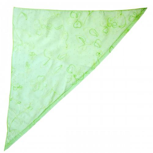Бандана-косынка женская светло-зеленая