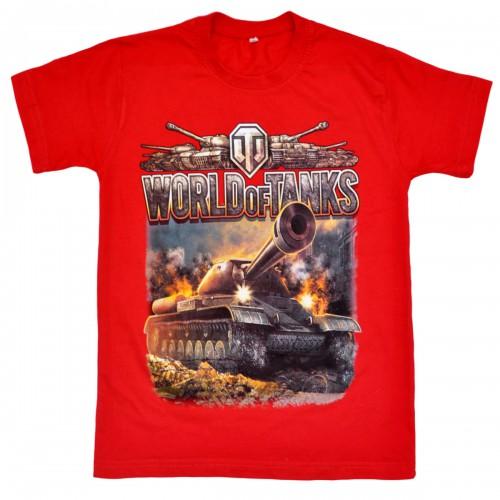 "Футболка подростковая ""World of Tanks"" -01"