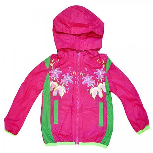 """Куртка-ветровка детская с подкладкой """"Bala Tree"""" -06 (для девочки)"""