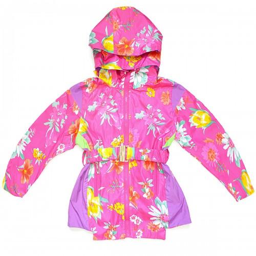 """Куртка-ветровка детская с подкладкой """"Bala Tree"""" -01 (для девочки)"""