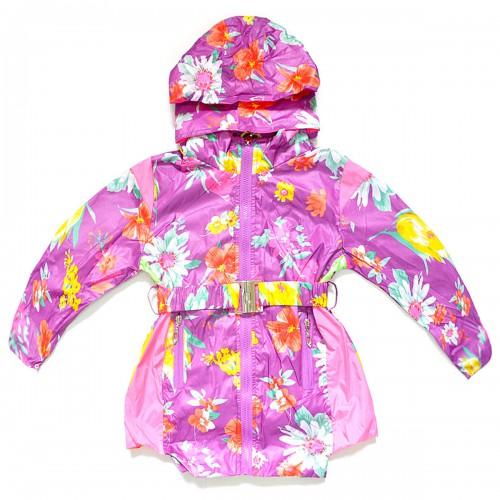 """Куртка-ветровка детская с подкладкой """"Bala Tree"""" -02 (для девочки)"""