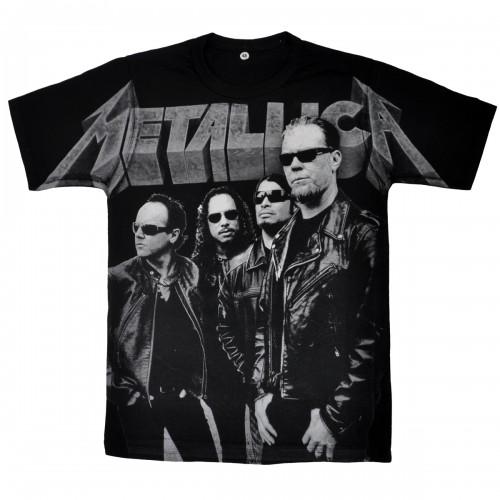 """Футболка """"Metallica"""" (тотал)"""
