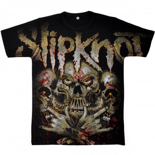 """Футболка """"Slipknot"""" (тотал)"""