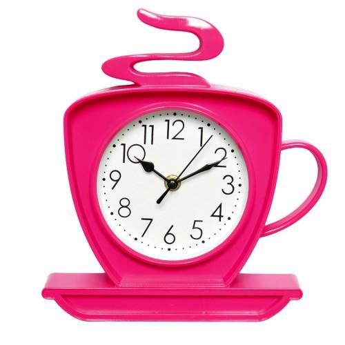 "Часы настенные ""Чашка"" (pink)"