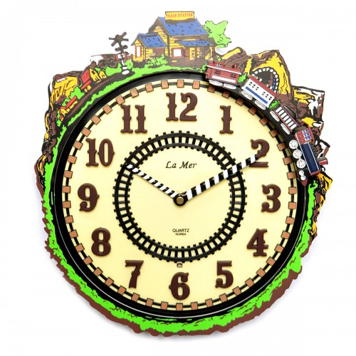 "Часы настенные ""Паровозик"""