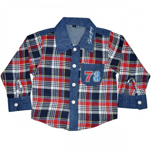 """Рубашка джинсовая детская """"78"""""""