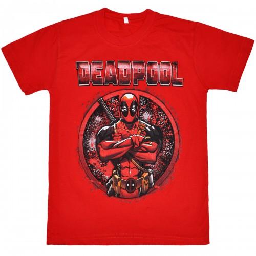 """Футболка подростковая """"Deadpool"""""""