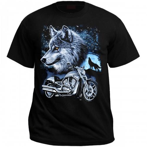 """Футболка """"Одинокий волк"""""""