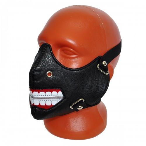 Маска на лицо кожаная -14