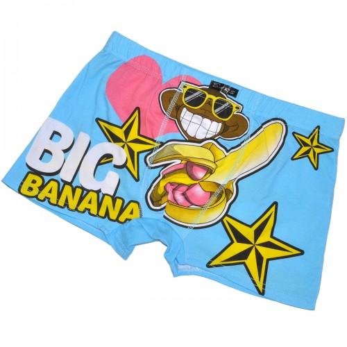 """Трусы мужские """"Big banana"""" (blue)"""