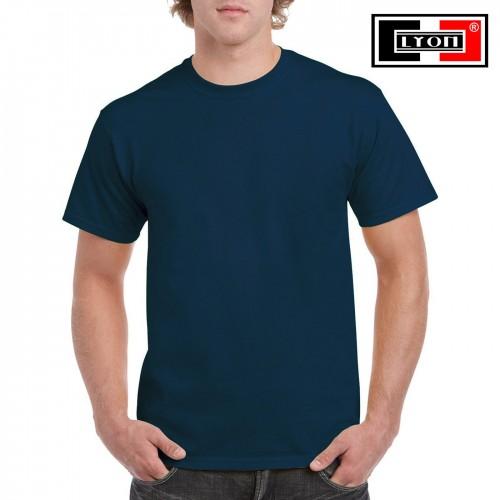 Футболка Lyon (Индия), цвет Темный джинсовый