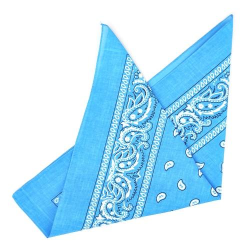 """Бандана """"Огурцы в квадрате""""-25 (blue)"""