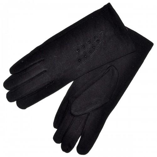 Перчатки женские, трикотажные -14