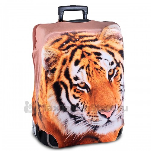 "Чехол на чемодан ""Взгляд тигра"""