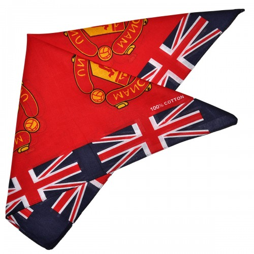 "Бандана ""Manchester United"" (британский флаг)"