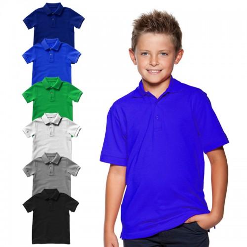Рубашка-поло детская (Хлопок)