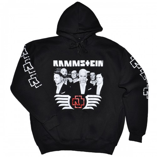 "Толстовка Кенгуру с капюшоном и карманами ""Rammstein"""